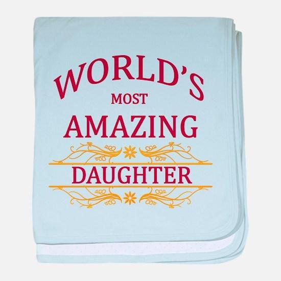 Daughter baby blanket