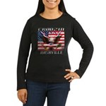 Cruising Nashvill Women's Long Sleeve Dark T-Shirt