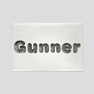 Gunner Wolf Rectangle Magnet