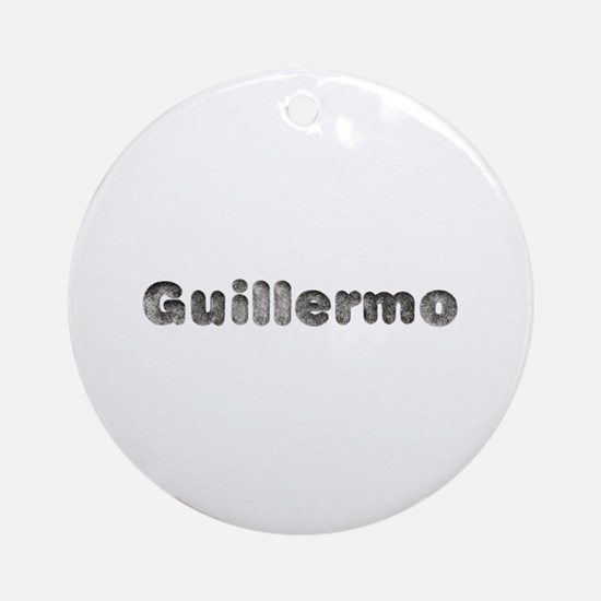 Guillermo Wolf Round Ornament