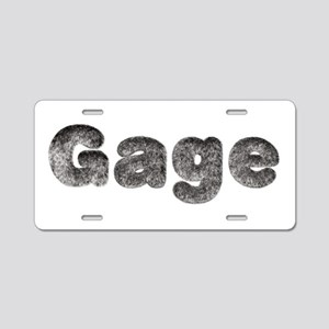 Gage Wolf Aluminum License Plate