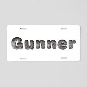 Gunner Wolf Aluminum License Plate