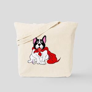 Hero French Bulldog Tote Bag