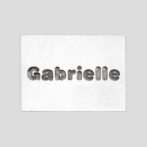 Gabrielle Wolf 5'x7' Area Rug