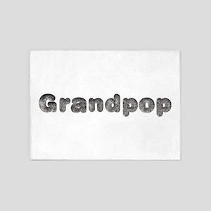 Grandpop Wolf 5'x7' Area Rug