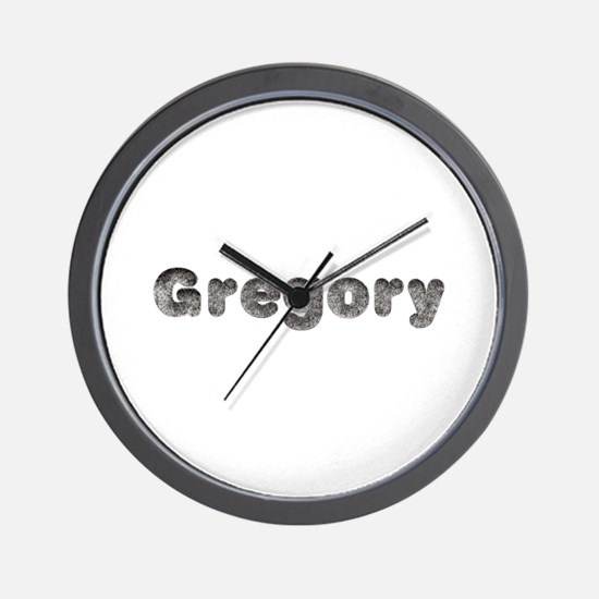 Gregory Wolf Wall Clock
