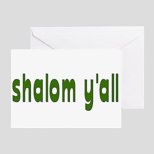 Rosh Hashanah Shalom Y'all Greeting Card