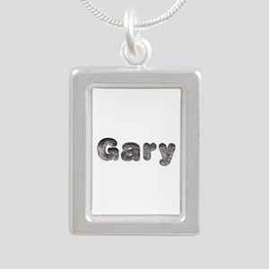 Gary Wolf Silver Portrait Necklace