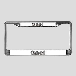 Gael Wolf License Plate Frame