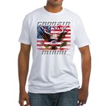 Cruising Miami Fitted T-Shirt