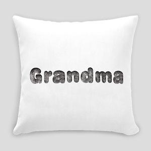 Grandma Wolf Everyday Pillow