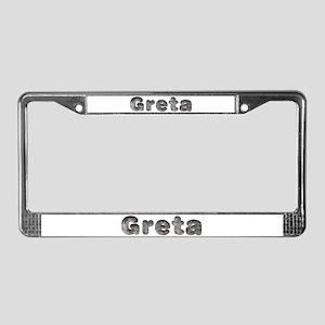 Greta Wolf License Plate Frame