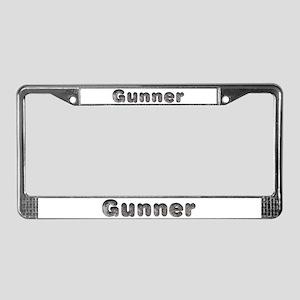 Gunner Wolf License Plate Frame