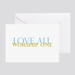 Love All Greeting Card