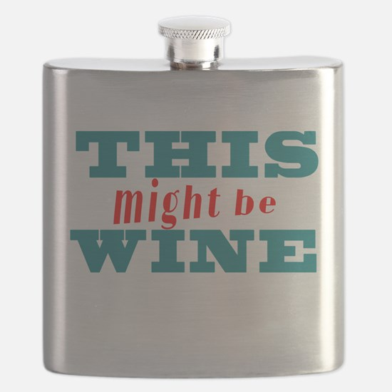 This Might Be Wine2 Flask