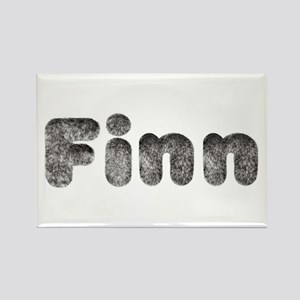 Finn Wolf Rectangle Magnet