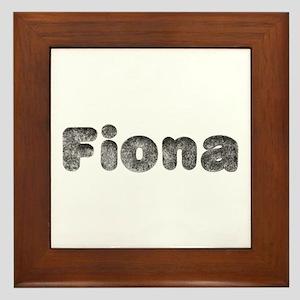 Fiona Wolf Framed Tile