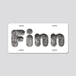 Finn Wolf Aluminum License Plate