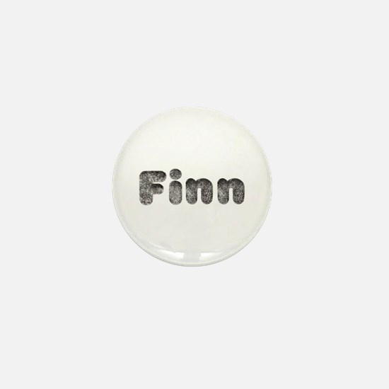 Finn Wolf Mini Button