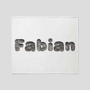 Fabian Wolf Throw Blanket