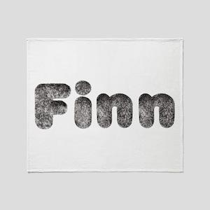 Finn Wolf Throw Blanket
