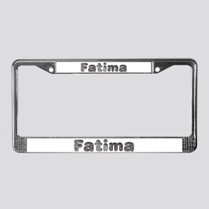 Fatima Wolf License Plate Frame