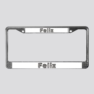 Felix Wolf License Plate Frame