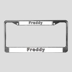 Freddy Wolf License Plate Frame