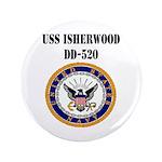 USS ISHERWOOD Button