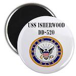 USS ISHERWOOD Magnet