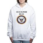 USS ISHERWOOD Women's Hooded Sweatshirt
