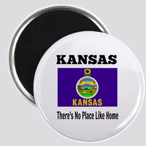 Kansas, There's No Place Like Home Magnet