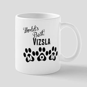 Worlds Best Vizsla Mom Mugs