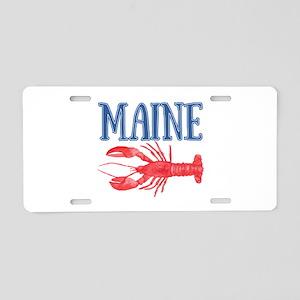 Maine Lobster Aluminum License Plate