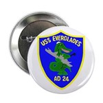 USS Everglades (AD 24) Button