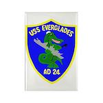 USS Everglades (AD 24) Rectangle Magnet