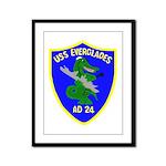 USS Everglades (AD 24) Framed Panel Print
