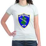 USS Everglades (AD 24) Jr. Ringer T-Shirt