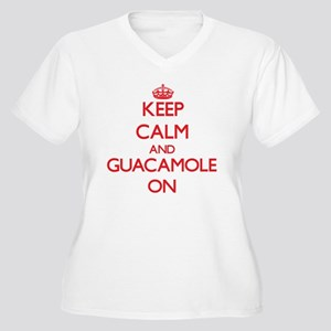 Keep Calm and Guacamole ON Plus Size T-Shirt