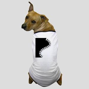 Piano Keyboard Dog T-Shirt