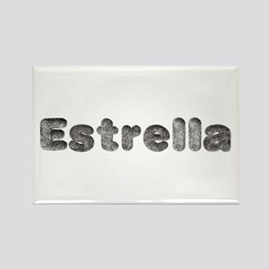 Estrella Wolf Rectangle Magnet