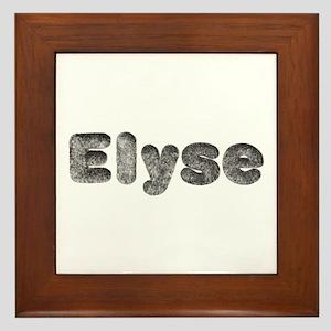Elyse Wolf Framed Tile