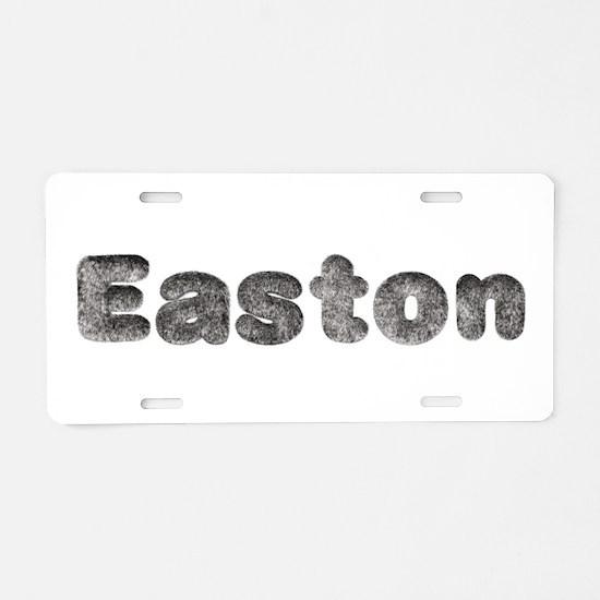 Easton Wolf Aluminum License Plate