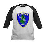 USS Everglades (AD 24) Kids Baseball Jersey