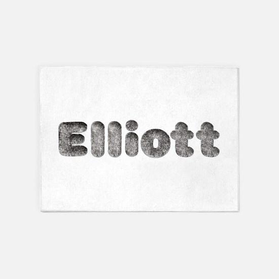 Elliott Wolf 5'x7' Area Rug