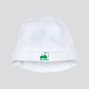 Go Green ~ Drive Electric Cars baby hat
