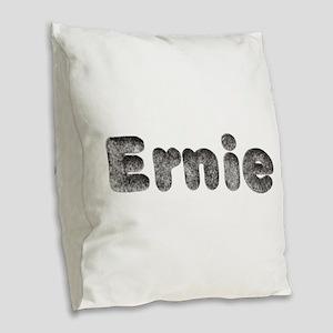 Ernie Wolf Burlap Throw Pillow