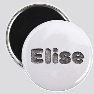 Elise Wolf Round Magnet