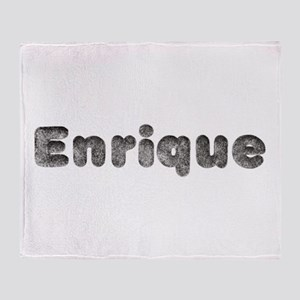 Enrique Wolf Throw Blanket