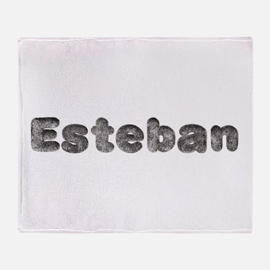 Esteban Wolf Throw Blanket